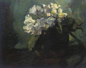 Zinnias In A Vase