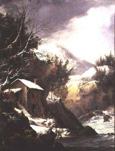 Winter Landscape (pair Of - (81021))