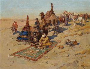 Caucasian Scene