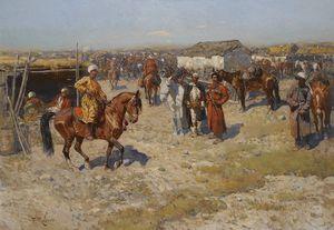 Central Asian Horse Market