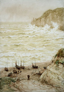 Beer Cove In A Storm