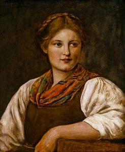 A Bavarian Peasant Girl