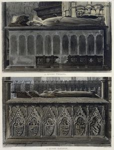 The Tombs Of Queen Philippa And Queen Eleanor