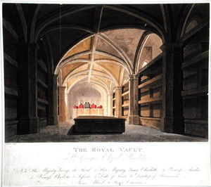 The Royal Vault, St. George's Chapel, Windsor
