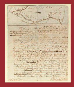 Washington, George, President. Autograph Manuscript Signed