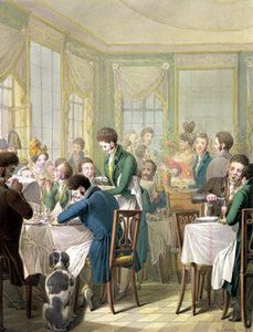 The Restaurant In The Palais Royal,