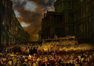 First State Visit Of Queen Victoria To The City Of London