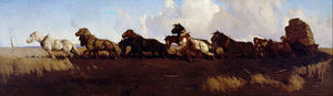 Across The Black Soil Plains -