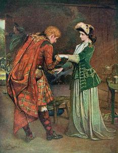 Prince Charlie's Farewell To Flora Macdonald