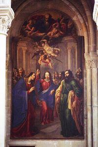 Jesus At The Temple, Notre-dame De Senlis