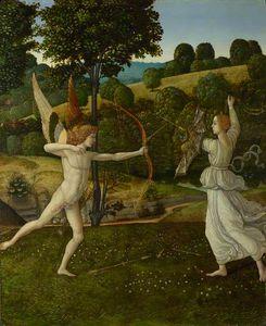 El combate del amor y de la castidad