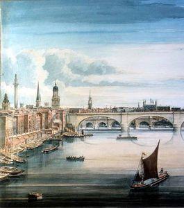 West View Of New London Bridge And Old London Bridge_2
