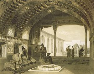 The Hall Of Mirrors In The Palace Of The Sardar