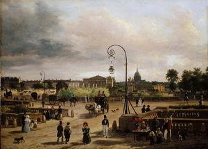 La Place De La Concorde In