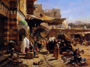 Market At Jaffa