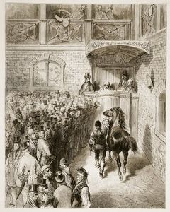 A Sale At Tattersall's, From 'london, A Pilgrimage'