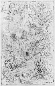 Album Of The Siege Of Paris, Emigrants