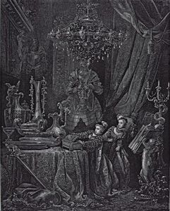 Illustration For 'bluebeard' By Charles Perrault