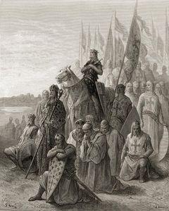 King Louis Ix Before Damietta