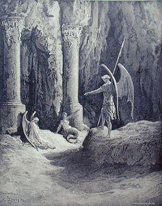 Satan At The Gates Of Hell