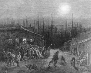 The Docks Night Scene