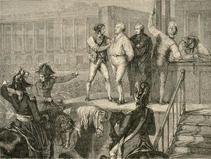 The Execution Of Louis Xvi On 21 January