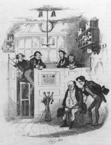 Mr. Pickwick And Sam In The Attorney's Office,