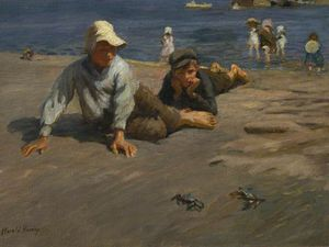 Sport On The Shore - A Crab Race