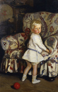 Young Boy In An Interior