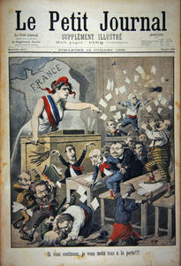 Title Page Depicting A Ruckus In The House House Of Deputies