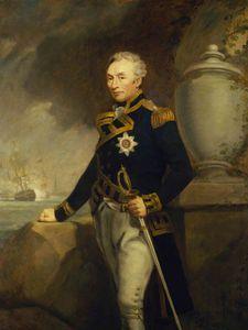 Rear-admiral Sir Thomas Graves