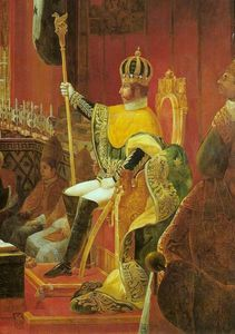 Coronation Of King Peter I