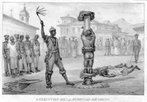 Execution Of The Flogging Punishment
