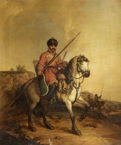 A Tartar On A Horse