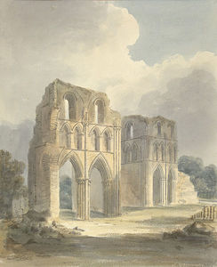 View Of Ruined Transept Of Roche Abbey