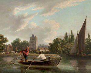 Fishing Boat At Fulham