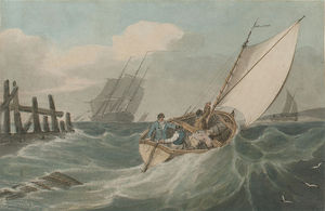 Putting Out To Sea In A Swell