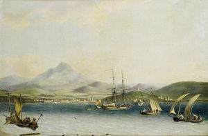 The Entrance To The Port Of San Sebastian