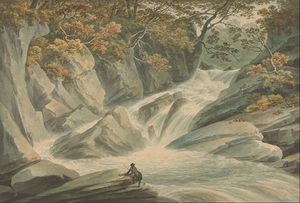 Hafod- Upper Part Of Cascade