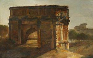 The Arch Of Septimus Severus, Rome