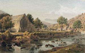 Bethgellert Church, Caernarvonshire, North Wales