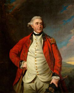 Portrait Of A Man In A Red Coat