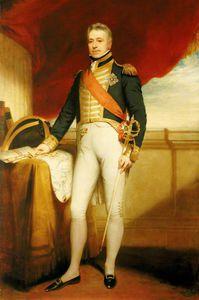 Vice-admiral Sir George Cockburn