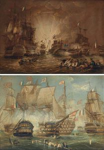 The Battle Of The Nile, And The Battle Of Trafalgar
