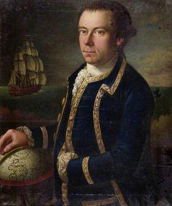 Portrait Of The Captain Of A Merchant Ship