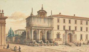The Fountain Of Aqua Felice Rome