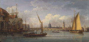 London Bridge, With St. Paul's Cathedral In The Distance