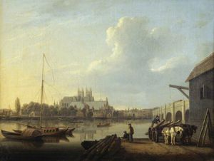 Westminster From The South, London