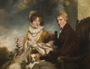 Portrait Of A Man And A Woman