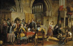 The Surrender Of Arundel Castle To Sir William Waller